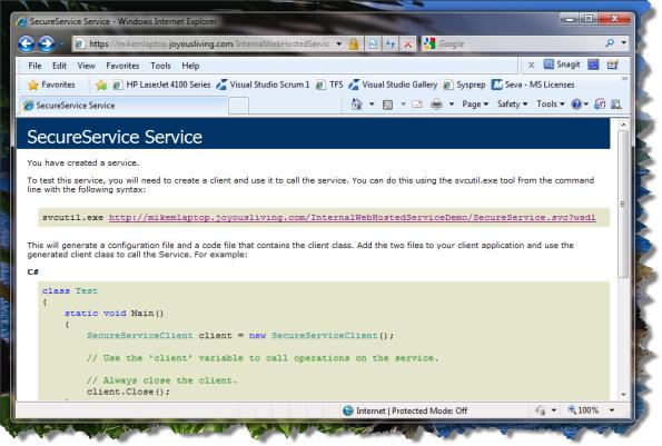 SecureService Service SVC File